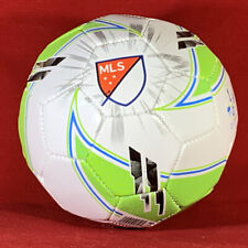New! Franklin Sports Mls Soccer Ball, Size 1, Black, Green and White
