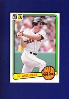 Wade Boggs RC HOF 1983 Donruss Baseball #586 (NM+) Boston Red Sox