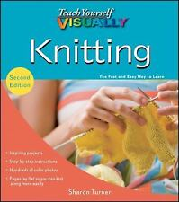 Teach Yourself VISUALLY Knitting Fast Easy Learn How to Knit Book Beginner Guide
