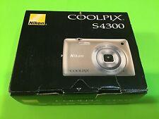 Nikon COOLPIX S4300 16.0MP Digital Camera - Red