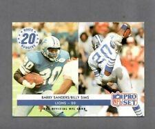 Barry Sanders/Billy Sims Detroit Lions Magic # 1992 Pro Set #349