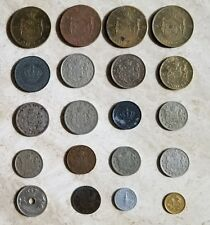 ROMANIA  Lot of (20) Old R0MANIA COINS, BRONZE & COOPER