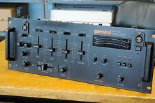 Vintage GEMINI PMX-1000 stereo disco preamp/mixer w. crossfader, in 4 rack space