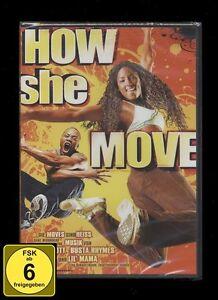 DVD HOW SHE MOVE (Tanz-Film) - MISSY ELLIOTT *** NEU ***