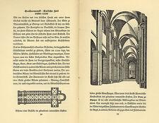 Deutschland  Architektur Kunst Gotik Barock Geschichte Baustil Fibel 1939