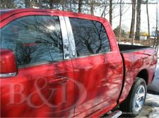 Chrome SS Pillar Posts compatible with 2009 2010 2011 2012 2013 Dodge RAM 4 DR.