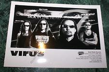 Virus 4 X 6 Promo Picture 1999 Mint Unused Rare Htf Oop