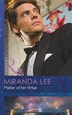 Very Good 0263899942 Paperback Master of her Virtue (Mills & Boon Modern) Mirand