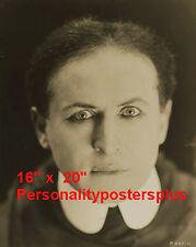 "Houdini~Personality~Magic Poster~Magician~Cu 16"" x 20"" Photo"