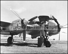WW2 USAAF P-38 F-5 Lightning 28th PRS 318th FG Saipan 1944 8x10 Aircraft Photos