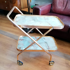 Hostess 2 tier follding serving/drinks trolly  Ref 2451