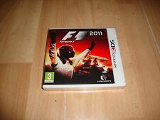 FORMULA 1 F1 2011 DE CODEMASTERS PARA LA NINTENDO 3DS NUEVO PRECINTADO