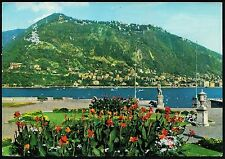 AA3254 Como - Provincia - Brunate - Panorama dai giardini di Villa Olmo
