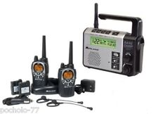 WALKIE TALKIES MIDLAND GXT1000 5W + CARGADOR+RADIO BASE COMUNICADORA XT511 RADIO