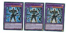 3 x Visions-eroe adorazione bllr-de057, ULTRA RARE, Playset, MINT