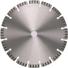 Diamante disco CEMENTO GRANITO KLINKER Universal 350 - 25,4 mm laser turbo 10 mm
