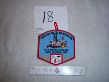 Section NC-5 1985 Boy Scout Order Arrow Section Conclave Pocket Patch -18