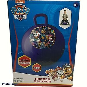 Paw Patrol Nick Jr. Hedstrom Hopper Ball For Kids With Handle - 15 Inch - New