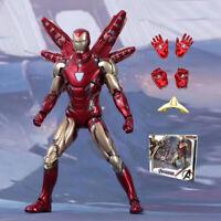 "2020 Armored Iron Man MK85 MARK 85 Avengers Endgame Marvel 7"" Action Figure Toy"