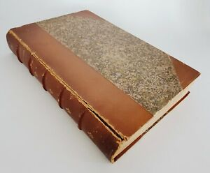 "1864 The Physiology of Taste ""Physiologie du Gout"" Brillat-Savarin Book Paris"