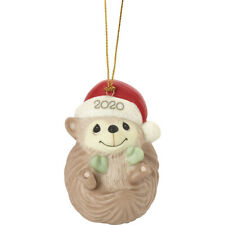 Precious Moments Sending Hedge Hugs 2020 Dated Animal Ornament New