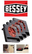 Pack de 4 Bessey Av2 réglable 5-20mm plancher SPACER stratifié / PARQUET SOL