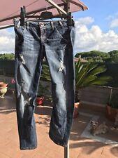 Guess jeans rocket donna W29 blu usato vita bassa