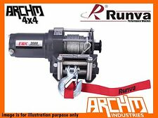 RUNVA ATV SERIES 2000LB 907KG WITH STEEL CABLE RECOVERY WINCH