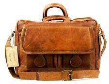 Men Vintage Leather Shoulder Messenger Crossbody Handmade Business Satchel Bag