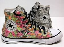 CONVERSE ALL STAR CHUCK TAYLOR FLORAL PRINT HIGH-TOP SNEAKERS WOMEN'S SIZE (7)