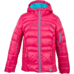NEW Spyder Kids Girls Ski Snowboarding Chrono Down Jacket Size XL (18), NWT