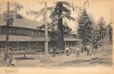 """The Lodge"" Cloudcroft, New Mexico Bailey's Pharmacy 1907 Vintage Postcard"