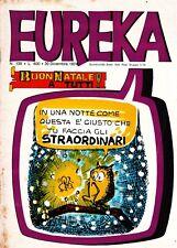 EUREKA n. 139 - EDITORIALE CORNO - DICEMBRE 1974