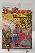Dino Riders Commando Glyde Action Figures 1987 TYCO MOC