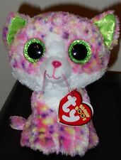"Ty Beanie Boos ~ Sophie the 6"" Cat ~ New ~ Mint with Mint Tags"