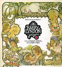 "LP 12"" 30cms: BO du film: Barry Lyndon: Stanley Kubrick. WB. D2"