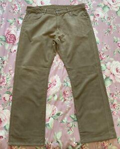 "GANT JASON Normal Waist Reg Fit Beige Stretch Brush Cotton Jeans Size W38 x L32"""
