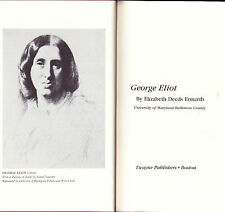 George Eliot by Elizabeth Deeds Ermanth (1985, Hardcover)