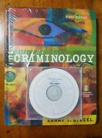 Criminology 9th Edition by Larry Siegel hard cover 2005