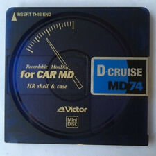MiniDisc Victor cruise MD azul 74 min desde japón extremadamente rara
