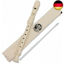 Flötenlilli Blockflöte, Flöte für Kinder, (Blockflöte, Barocke Griffweise)