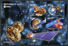 Union Island Gren St Vincent 2019 MNH Rosetta Philae Comet 4v M/S Space Stamps