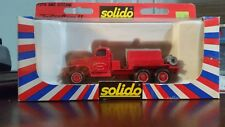 Solido Toner Gam Ii Gmc Fire Citerne (Tank) Truck,1:50, #3116,Die-cast Metal-Nib