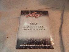 Leaf Lavar Ball Inscription Autograph Card Pack SEALED LE Big Baller Lonzo