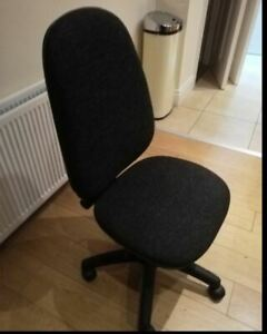 Soft Black Office Chair