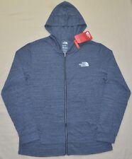 New THE NORTH FACE Mens 2XL XXL zip up hoodie jacket sweatshirt gray TNF logo