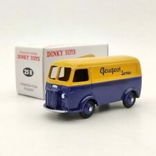 Atlas Miniatures Dinky Toys 25B Peugeot Fourgon Tole D.3.A Yellow Diecast 1:43