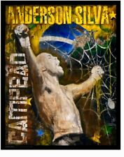 "UFC Poster Anderson Silva. Amazing!! ""27X34"" NEW! (2009)"