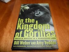 IN THE KINGDOM OF GORILLAS African Gorilla Ape Africa Mammal Apes Congo Book NEW