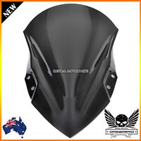 New Black ABS Windshield Windscreen For Kawasaki Ninja 400 2017 2018 2019 2020